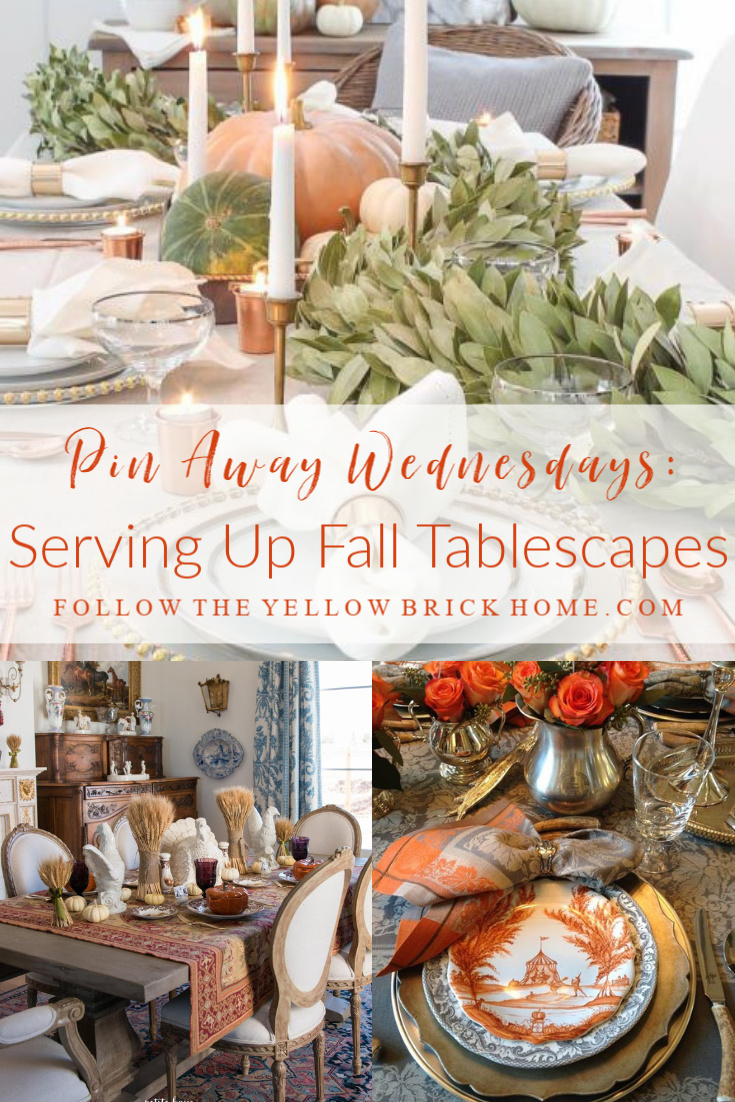 Fall Tablescapes Thanksgiving Tablescapes