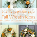 Fall Wreath ideas Natural and Rustic fall wreaths preserved fall wreaths farmhouse fall wreaths simple fall wreath ideas