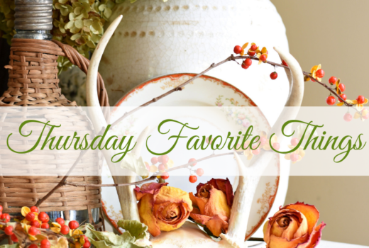 Fall Decorating ideas fall decor blogger link party bittersweet vintage treasures