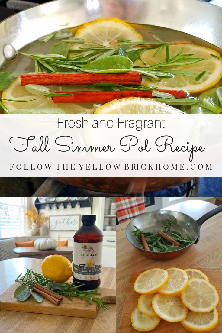 all natural fall simmer pot recipe