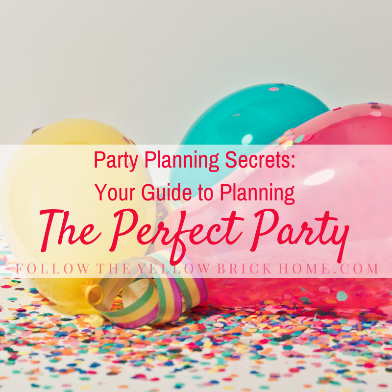 party planning ideas party planning secrets and tips