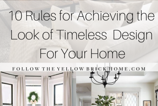 timeless home decor tips