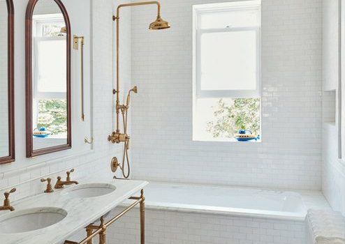 beautiful modern french bathroom gold bathroom fixtures