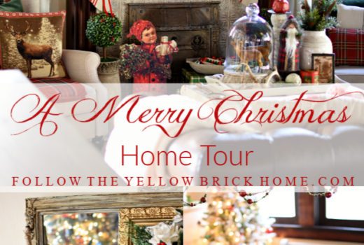 Traditional and vintage Christmas decor Christmas home tour