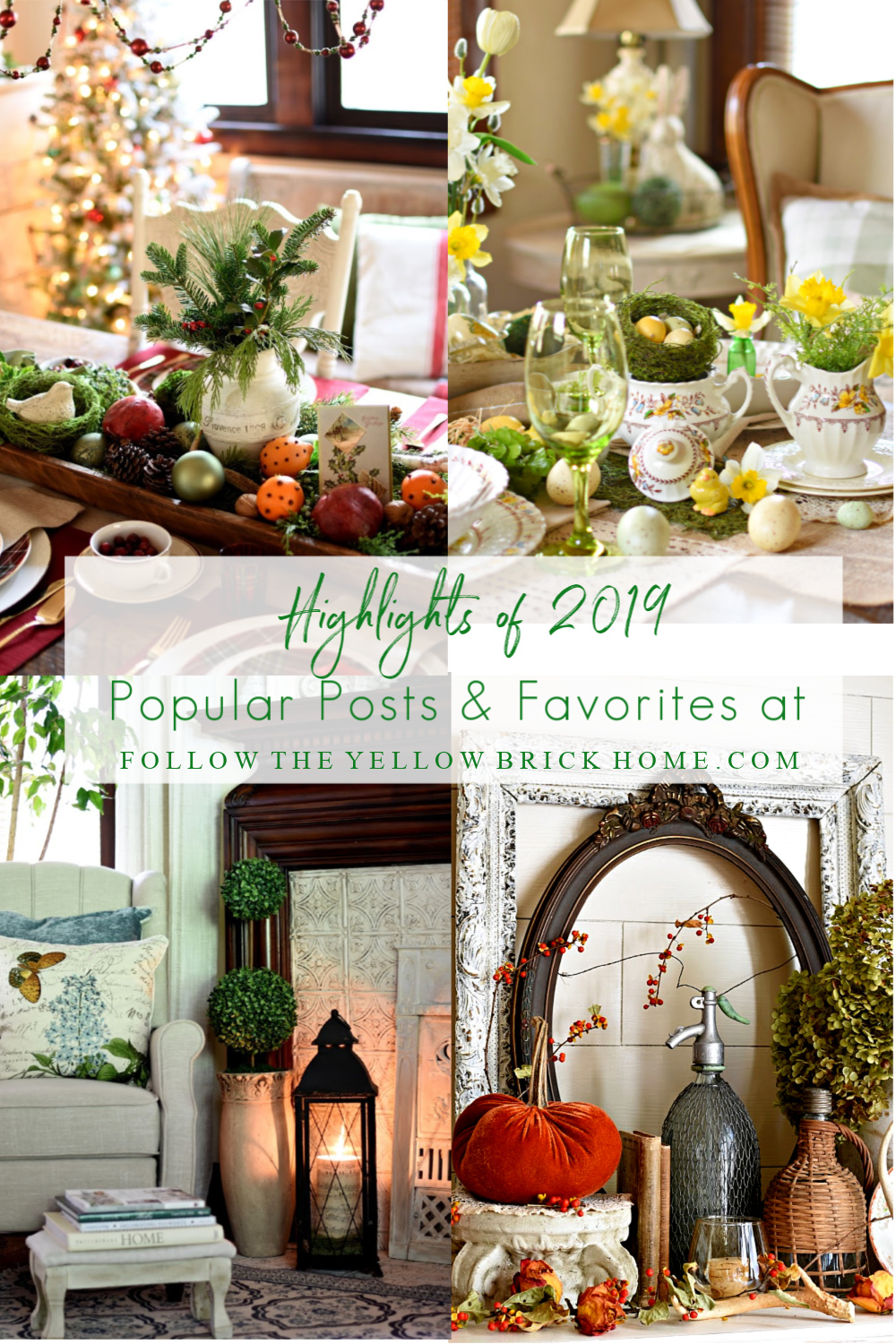 top blog posts of 2019 home decor and vintage finds, seasonal decorating ideas