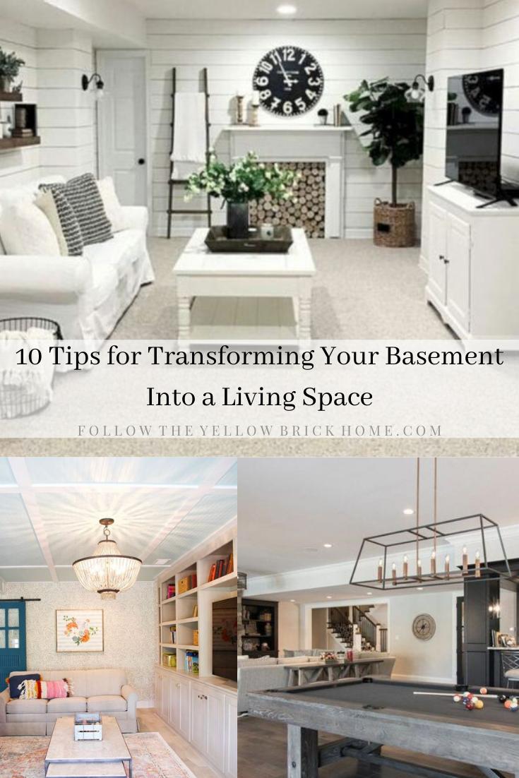 Transform Your Basement into a Living Space. Basement makeover ideas