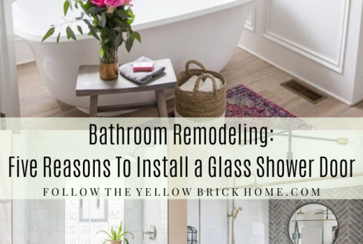 Bathroom Remodeling: Five Reasons to Install A Glass SHower Door