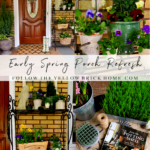 Early Spring Porch Refresh Spring Porch Decorating Ideas