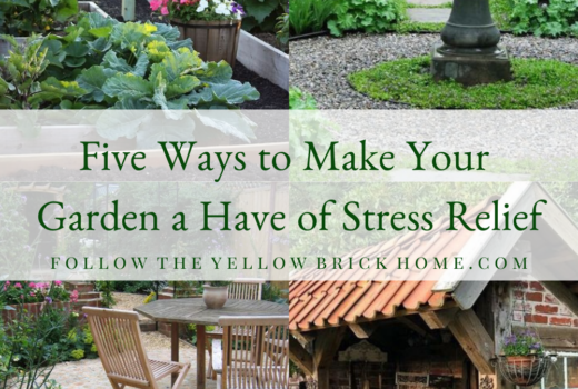 Make Your Garden a tranquil retreat for stress relief