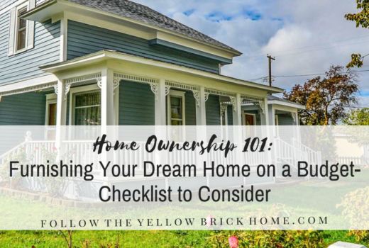 budget dream home checklist