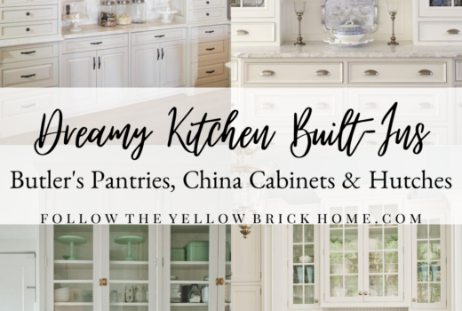 Kitchen built-in cabinets, butler pantry, kitchen hutch ideas Built in kitchen hutch