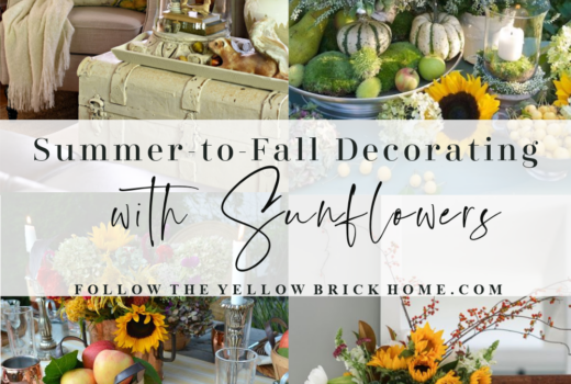 summer-to-fall decorating with sunflowers fall sunflowers fall decorating with sunflowers sunflower arrangements