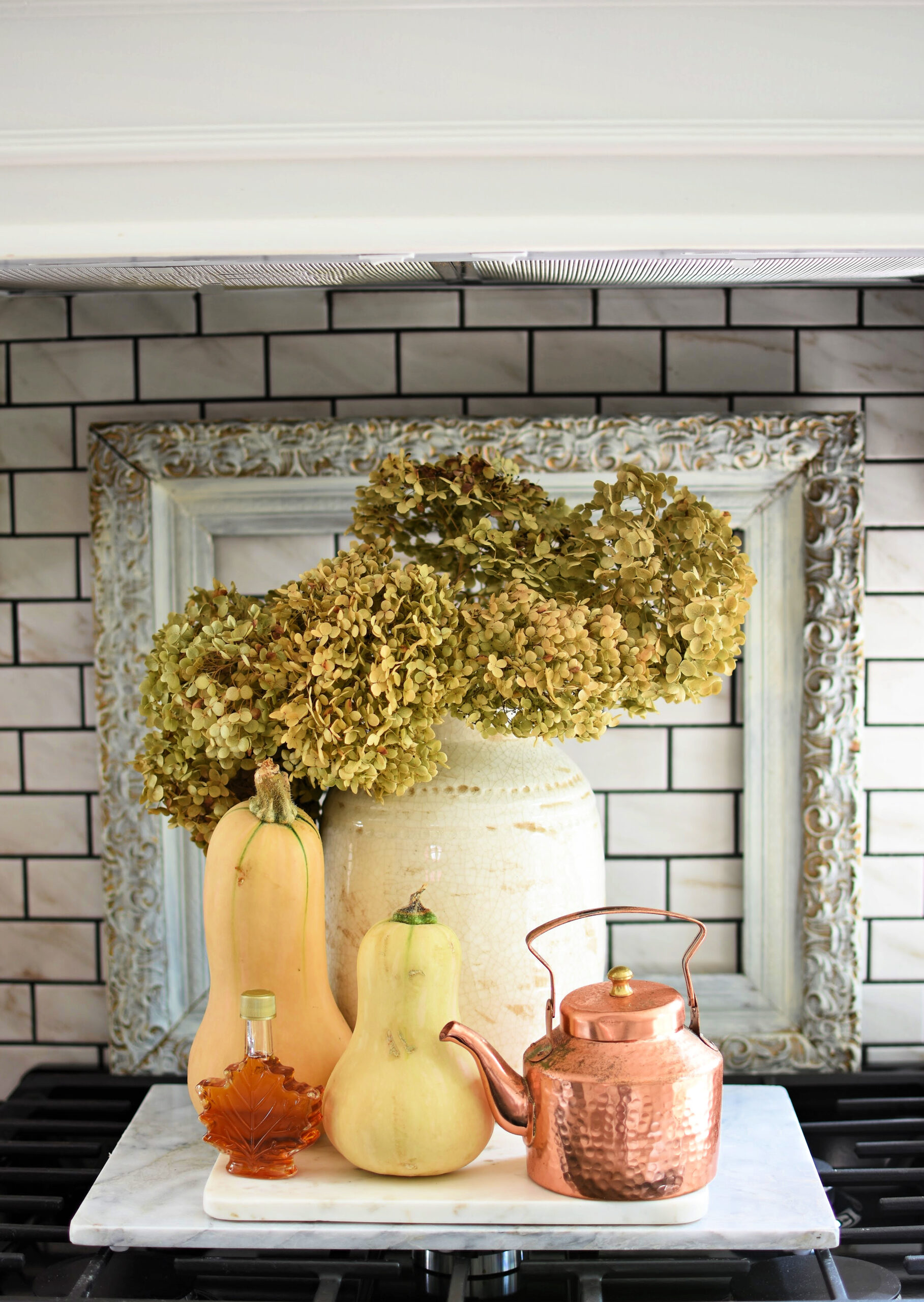 fall hydrangeas dried hydranges