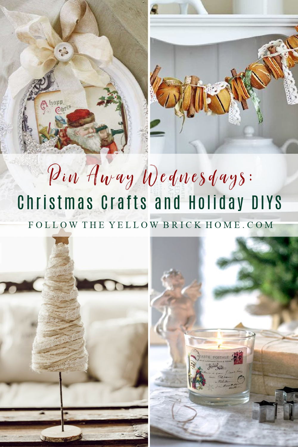 Christmas Crafts and Holiday DIYS Christmas DIY