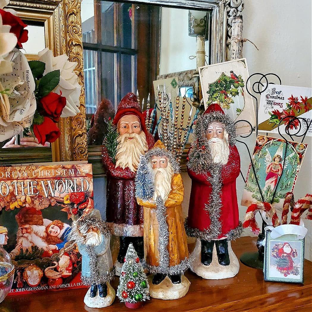 Belsnickel Collection German Santa German Santas Belsnickels Belsnickle Victorian Christmas Vintage Christmas
