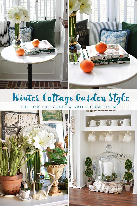 Beautiful Winter Garden Ideas Winter Cottage Garden Style Winter Flowers, Winter Botanicals and Winter Gardens