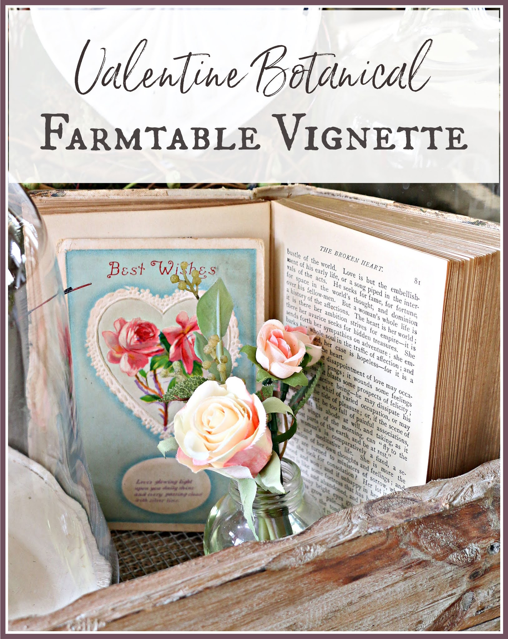 Valentine's Day Farm Table