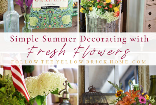 imple Summer Decorating Ideas with Fresh Flowers how to decorate with flowers for summer