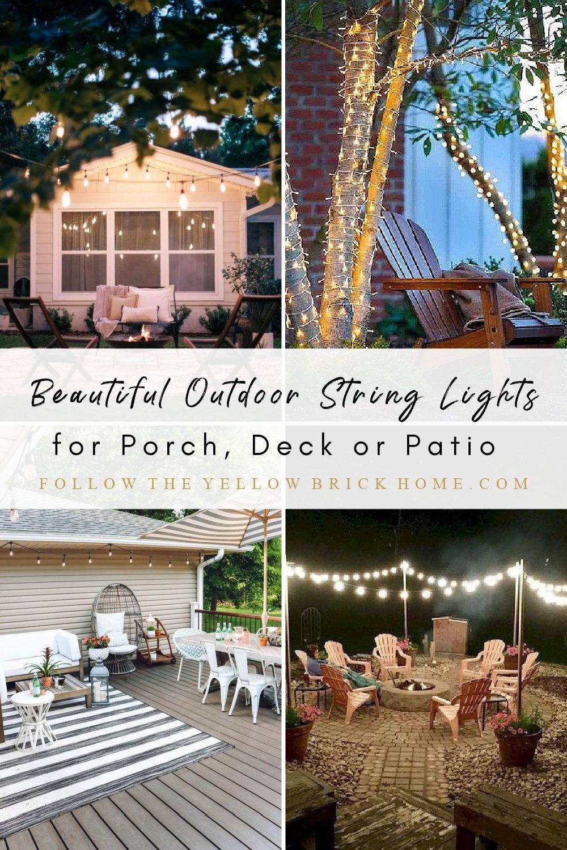 Outdoor String Lights Solar String Lights Outdoor Lights