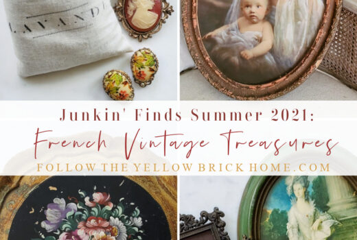 French Vintage Treasures French antiques decorating with vintage decor