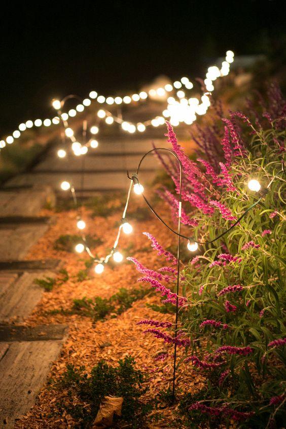 outdoor string lights from shepherd hooks solar string lights outdoor lighting