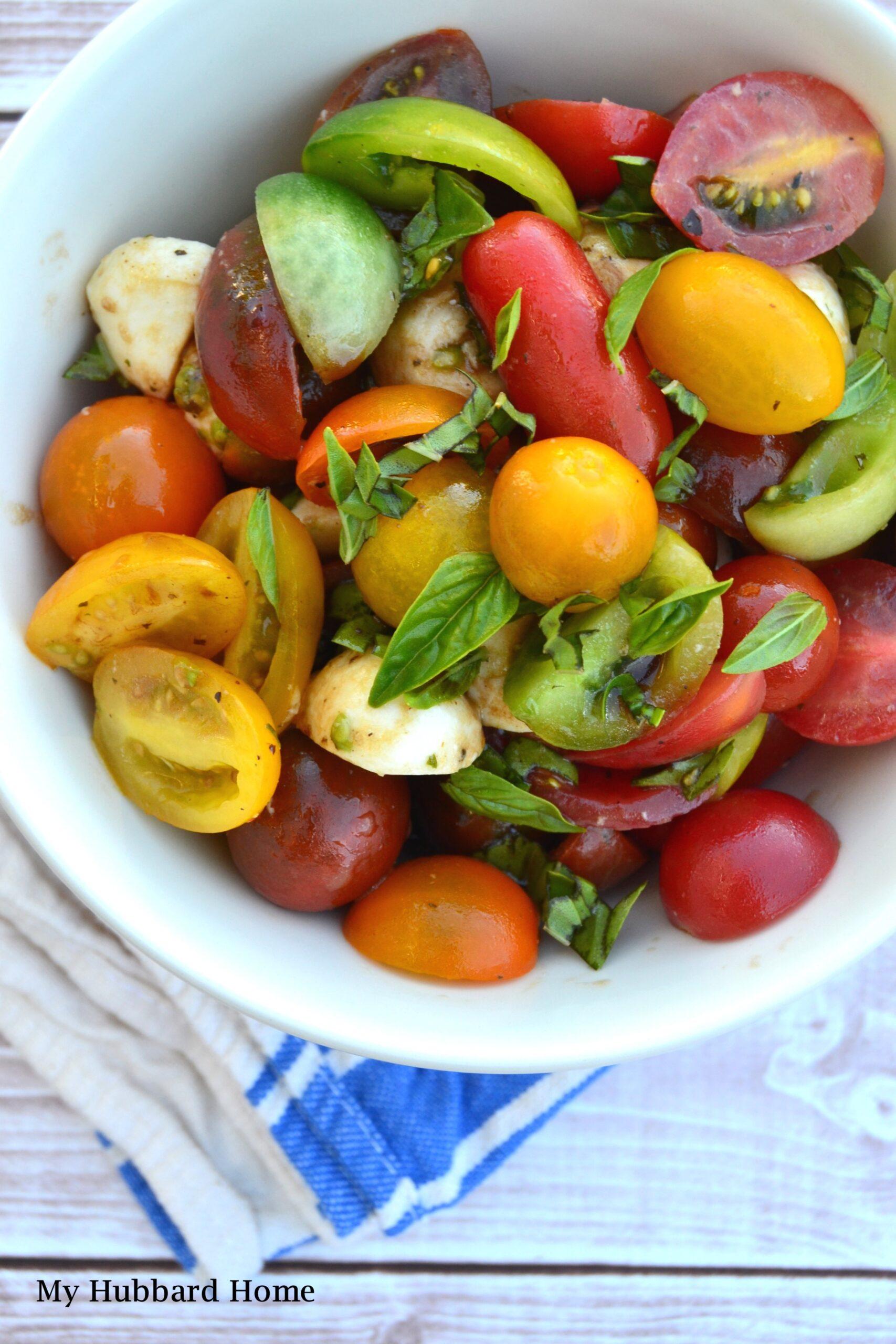 tomato salad recipe My Hubbard Home